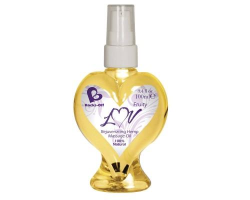 Массажное масло Rocks Off Luv Massage Oils Fruity 100 мл