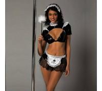 Эротический костюм горничной Развратница Лана