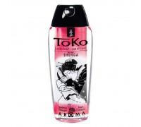 Лубрикант на водной основе Shunga Toko AROMA - Sparkling Strawberry Wine (165 мл), не содержит сахар