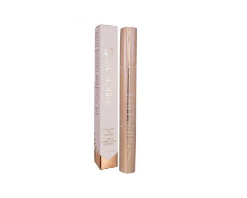 Стимулирующий блеск для губ HighOnLove - Couples Lip Gloss (7 мл) с эффектом вибрации, холод-тепло