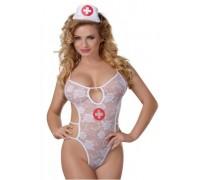 Боди «Медсестра» Sunspice Lace Bodysuit, One Size
