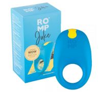Эрекционное кольцо с вибрацией Romp Juke Blue