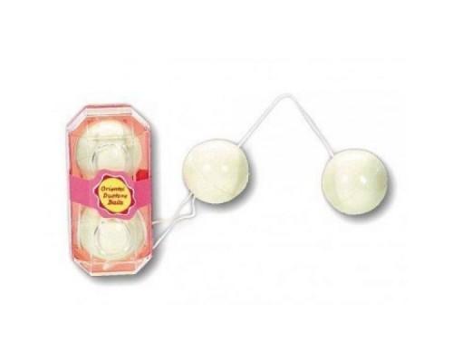 Шарики вагинальные Yam Balls, White