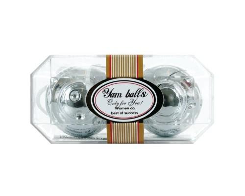 Шарики вагинальные Yam Balls, Silver