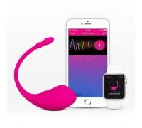 Виброяйцо со смарт-приложением и подключением к вебкам-чатам - Lovense Lush Bullet Vibrator